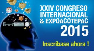 XXIV CONGRESO INTERNACIONAL & EXPOACOTEPAC 2015